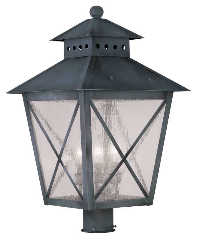 Livex Lighting 2678 Montgomery 22.5 Inch Tall Post Light with 3 Lights Sale $399.98 ITEM: bci2069347 ID#:2678-61 UPC: 847284028401 :