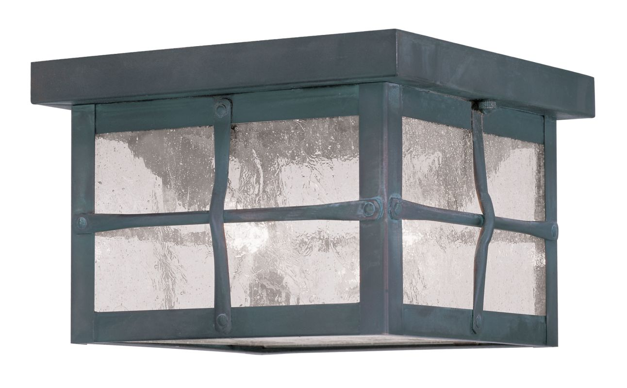 Livex Lighting 2688 Brighton Outdoor Flush Mount Ceiling Fixture with