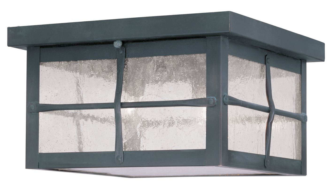 Livex Lighting 2689 Brighton Outdoor Flush Mount Ceiling Fixture with