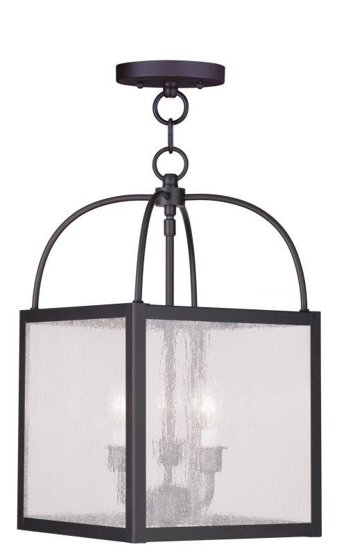 Livex Lighting 4055 Milford 3 Light Semi-Flush Ceiling Fixture Bronze Sale $199.90 ITEM: bci2069380 ID#:4055-07 UPC: 847284028883 :