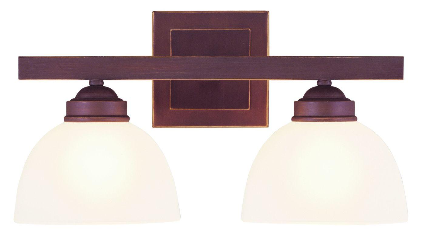 Livex Lighting 4202 2 Light 200 Watt 16&quote Wide Bathroom Fixture with