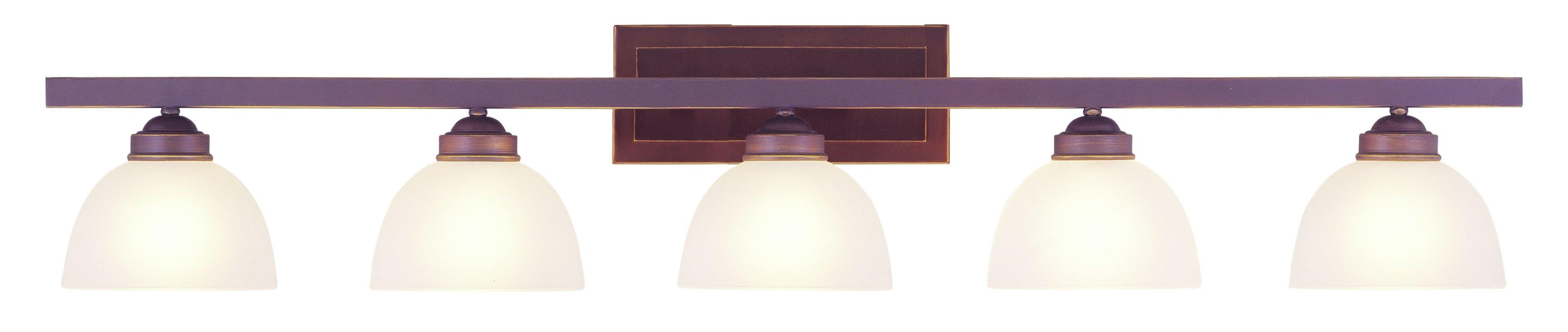 Livex Lighting 4205 70 Vintage Bronze 5 Light 500 Watt 48