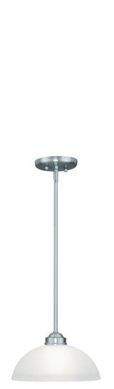 Livex Lighting 4211 1 Light 100 Watt Full Sized Pendant with Satin Sale $99.90 ITEM: bci1791398 ID#:4211-91 :