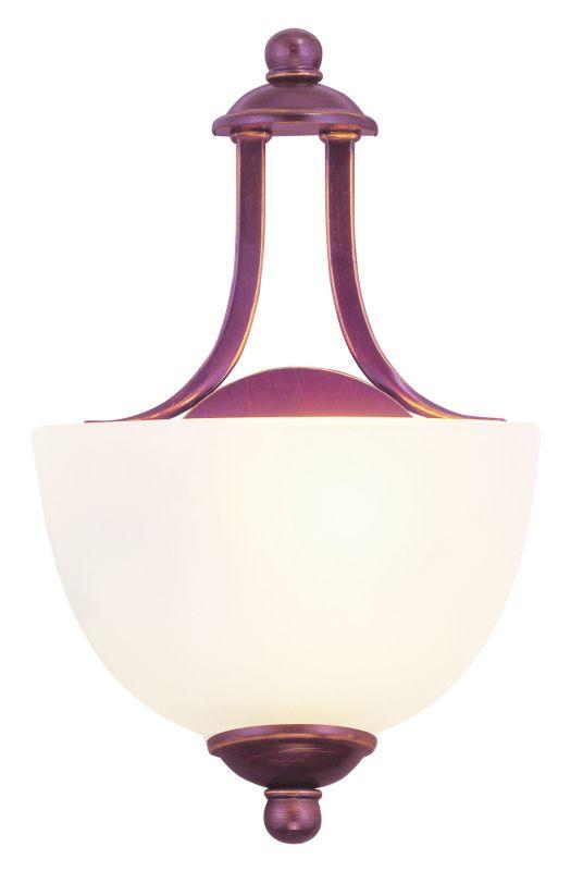 "Livex Lighting 4220 1 Light 60 Watt 7.75"" Wide Pendant with Satin"