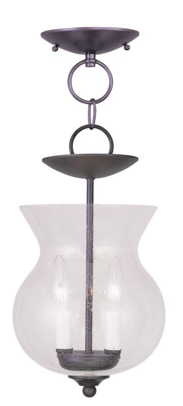 Livex Lighting 4392 Legacy Mini Pendant with 2 Lights Bronze Indoor