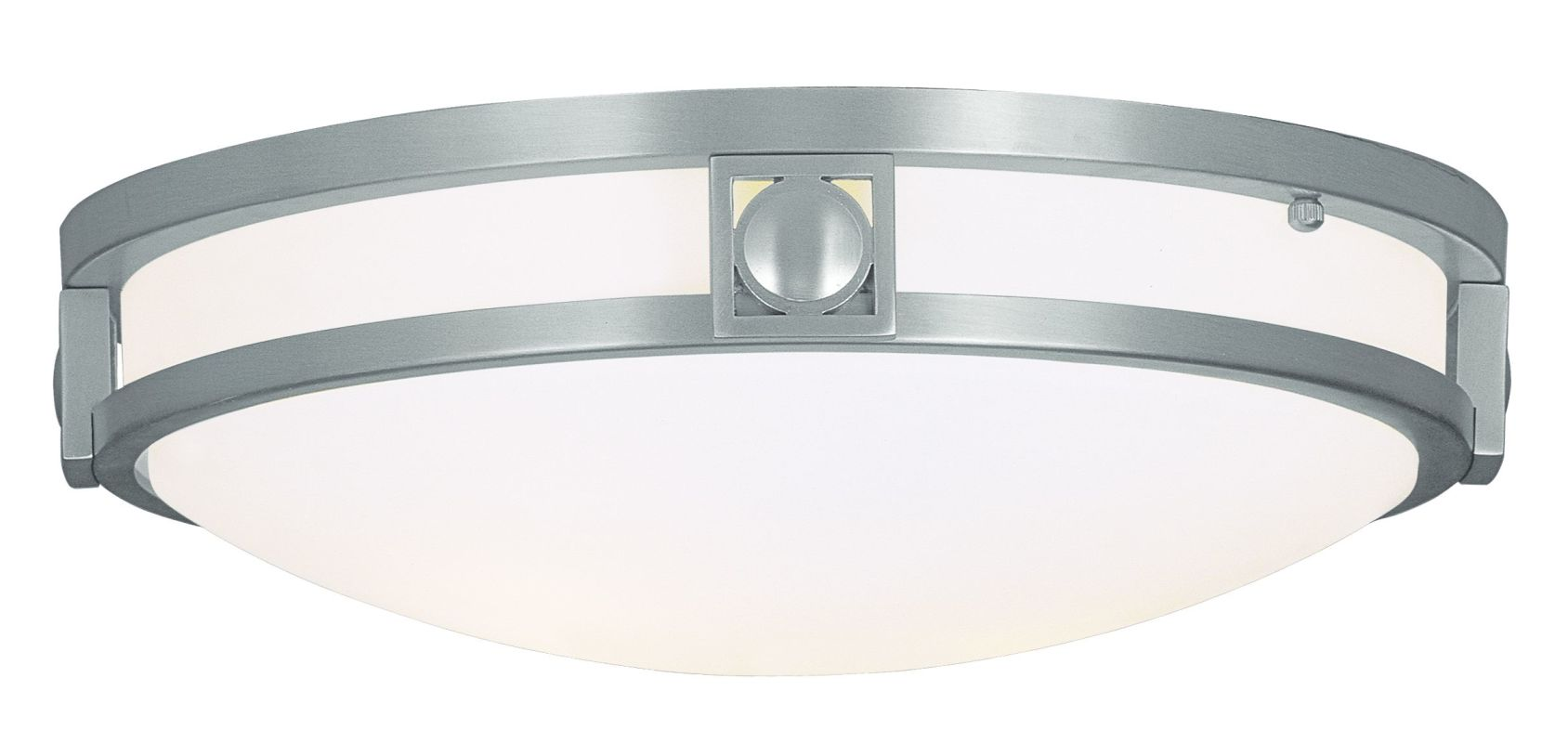Livex Lighting 4487 2 Light 80 Watt Flushmount Ceiling Fixture with