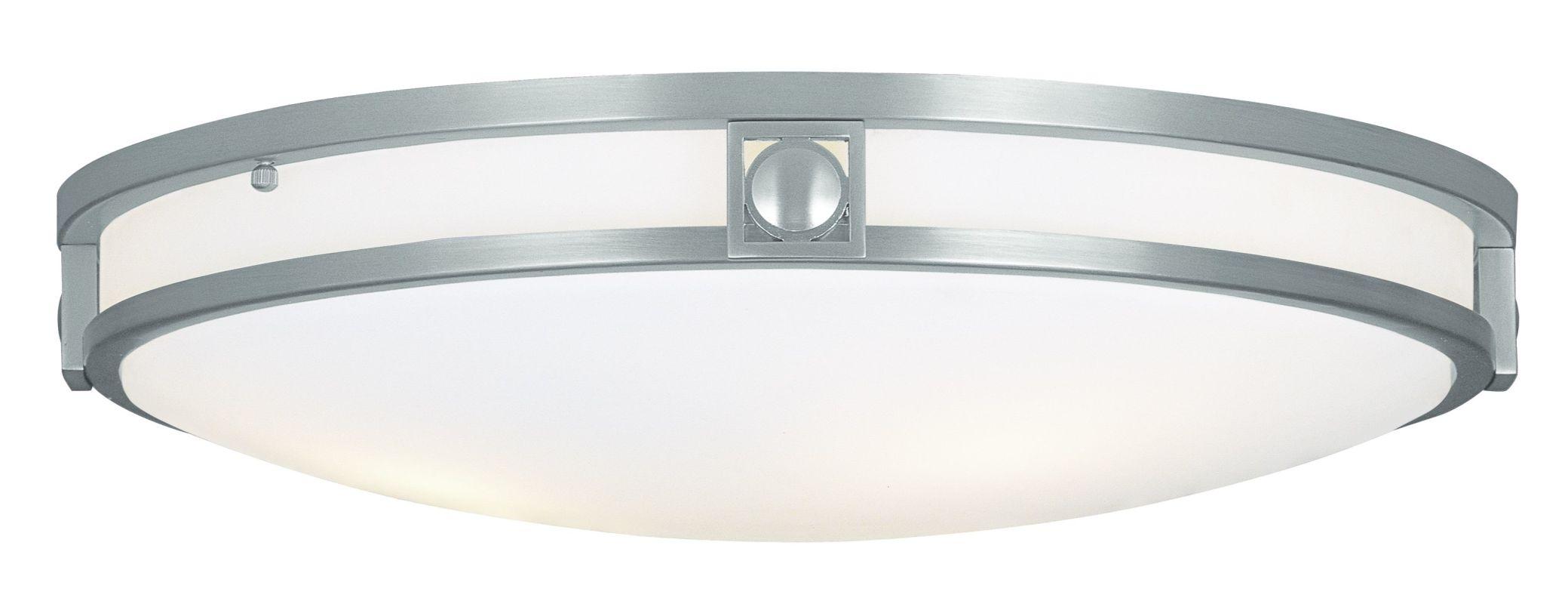 Livex Lighting 4489 3 Light 180 Watt Flushmount Ceiling Fixture with