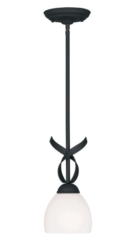 Livex Lighting 4750 Brookside 13 Inch Tall Mini Pendant with 1 Light