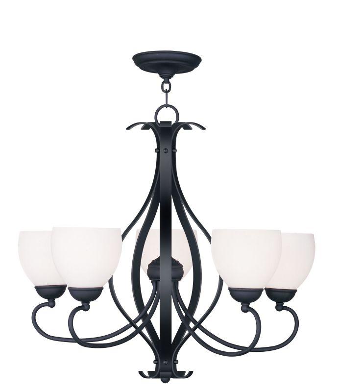 Livex Lighting 4765 Brookside Satin White Glass Up Lighting 1 Tier Sale $279.90 ITEM: bci2069446 ID#:4765-04 UPC: 847284030282 :