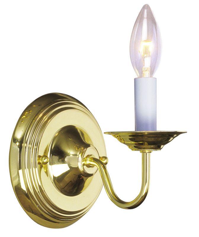 "Livex Lighting 5017 1 Light 60 Watt 5"" Wide Wallchiere Sconce from the"