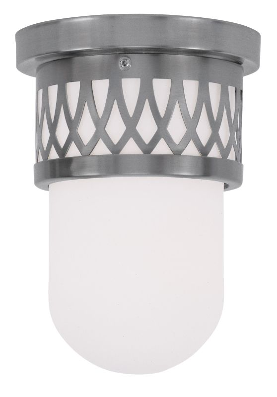 Livex Lighting 7350 Westfield Flush Mount Ceiling Fixture with 1 Light
