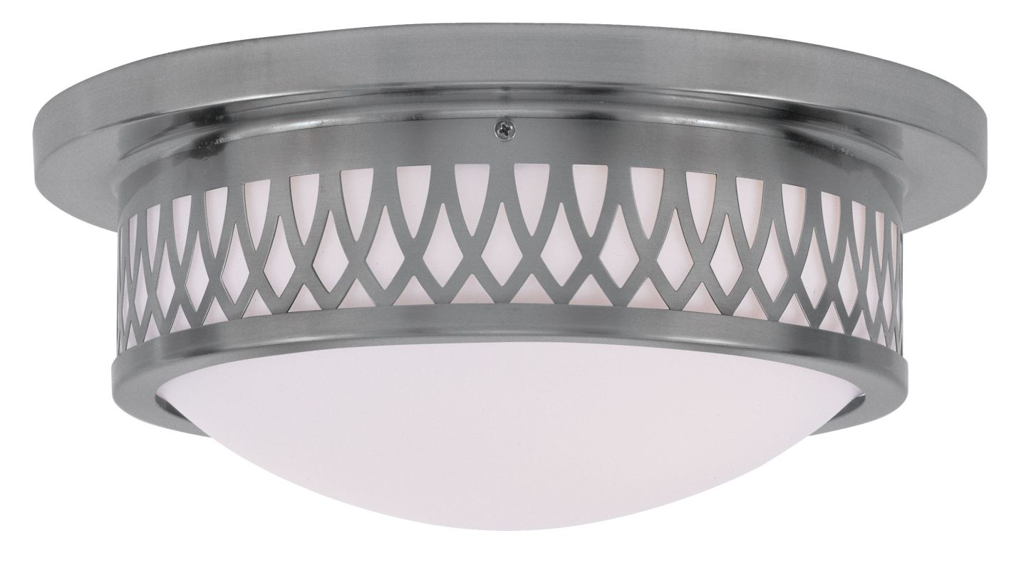 Livex Lighting 7352 Westfield Flush Mount Ceiling Fixture with 2