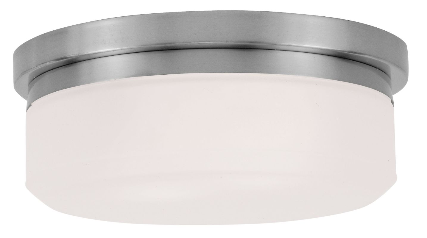 Livex Lighting 7391 11 Inch Wide Flush Mount Ceiling Fixture / Wall