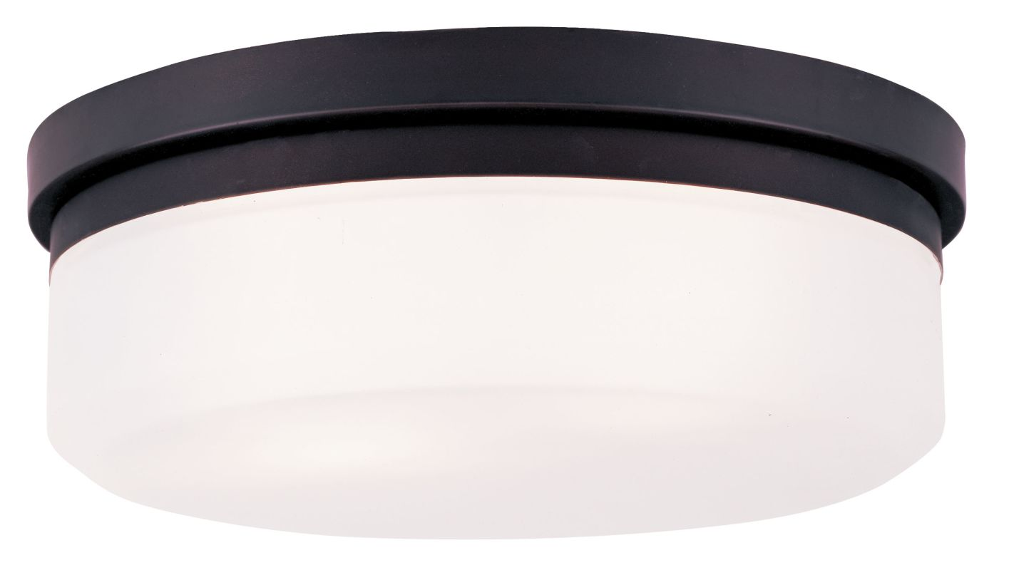 Livex Lighting 7392 13 Inch Wide Flush Mount Ceiling Fixture / Wall