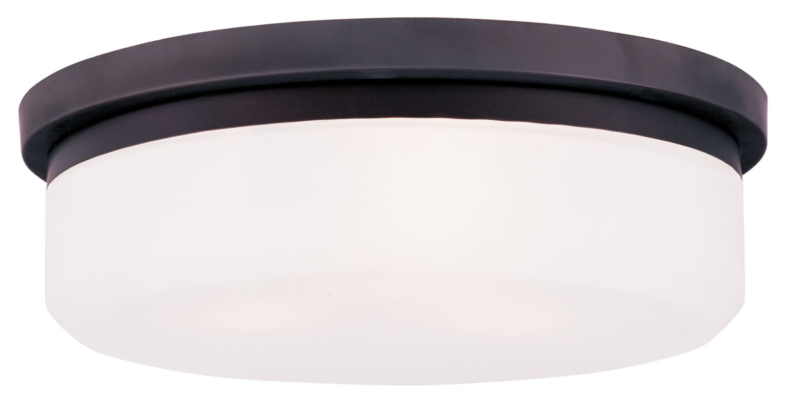 Livex Lighting 7393 15.5 Inch Wide Flush Mount Ceiling Fixture / Wall