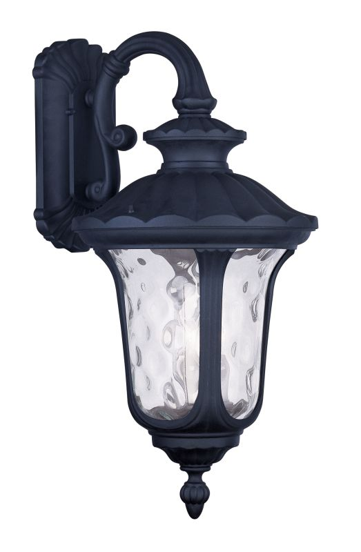 "Livex Lighting 7857 Oxford 22.5"" Height 3 Light Outdoor Wall Sconce"