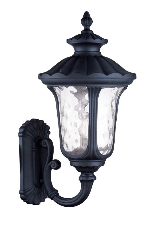 Livex Lighting 7862 Oxford 3 Light Outdoor Wall Sconce Black Outdoor Sale $539.90 ITEM: bci2069758 ID#:7862-04 UPC: 847284031692 :
