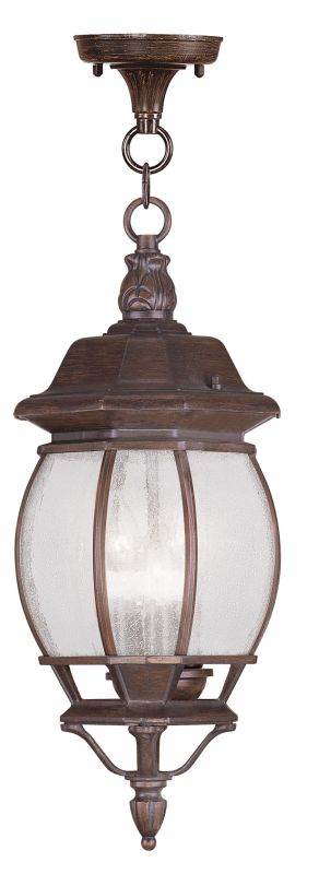 Livex Lighting 7908 Frontenac Outdoor Pendant with 3 Lights Imperial Sale $69.98 ITEM: bci2069781 ID#:7908-58 UPC: 847284032002 :