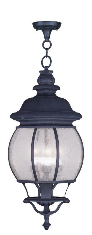 Livex Lighting 7910 Frontenac Outdoor Pendant with 4 Lights Black
