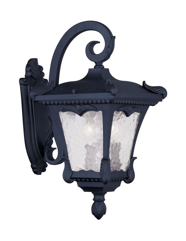 Livex Lighting 7983 Millstone 17.5 Inch Tall Top Mount Outdoor Wall