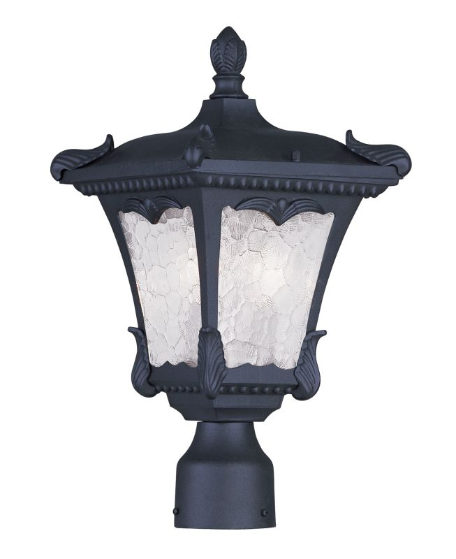 Livex Lighting 7984 Millstone 17.5 Inch Tall Post Light with 2 Lights