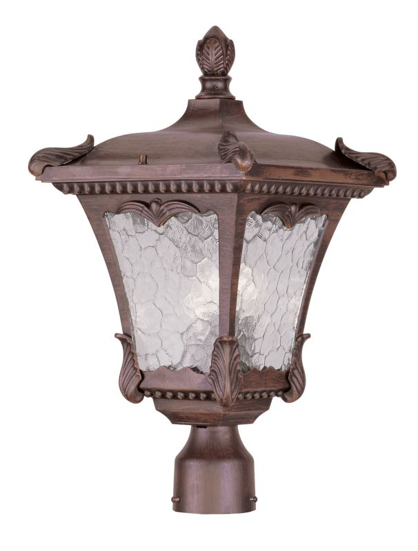 Livex Lighting 7988 Millstone 20.25 Inch Tall Post Light with 3 Lights