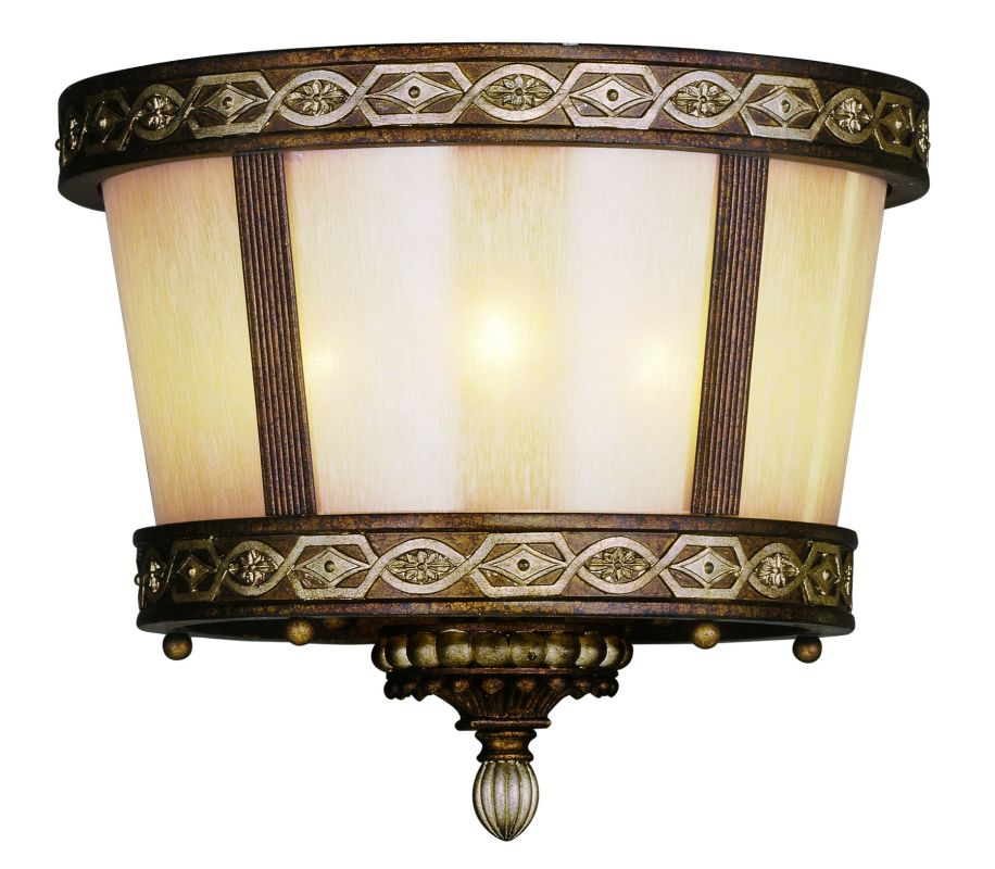 Livex Lighting 8860 3 Light 180 Watt Flush Mount Ceiling Fixture with Sale $499.90 ITEM: bci1791576 ID#:8860-64 UPC: 847284006966 :