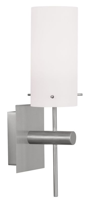 Livex Lighting 9411 Wall Sconce with 1 Light Brushed Nickel Indoor Sale $79.90 ITEM: bci2069832 ID#:9411-91 UPC: 847284029903 :