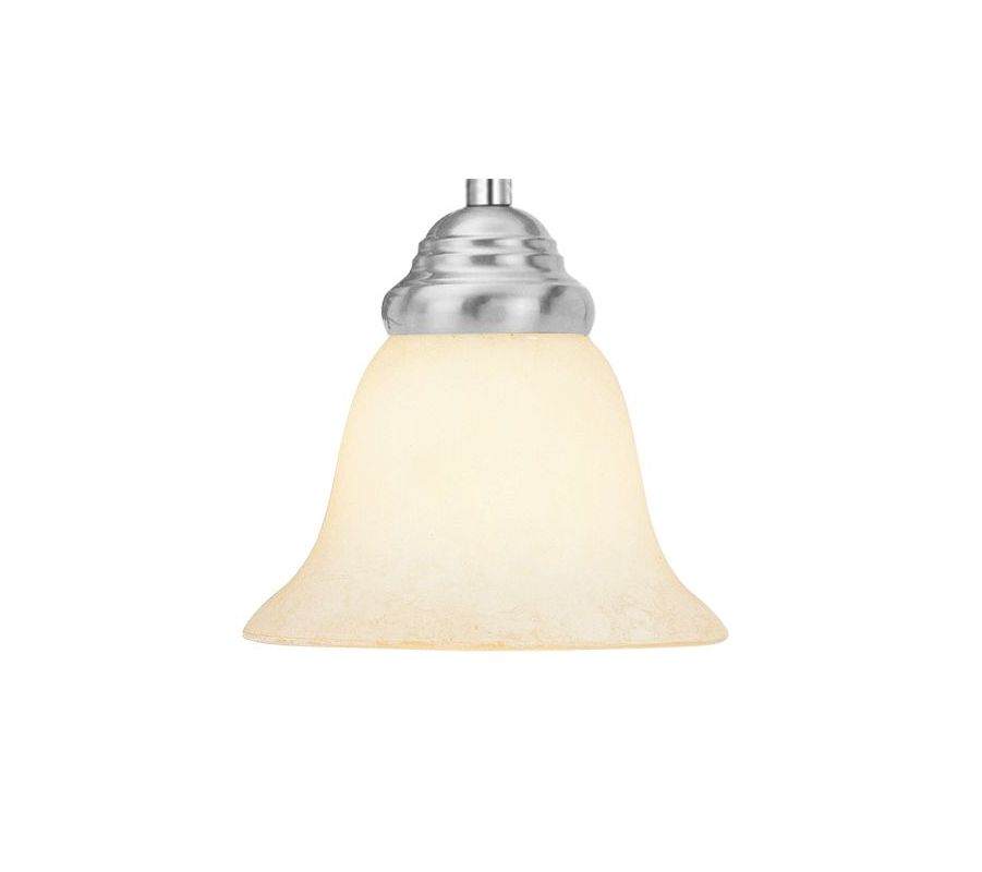 Livex Lighting GL1193 Vintage Scavo Glass Shade for Mini Pendants from