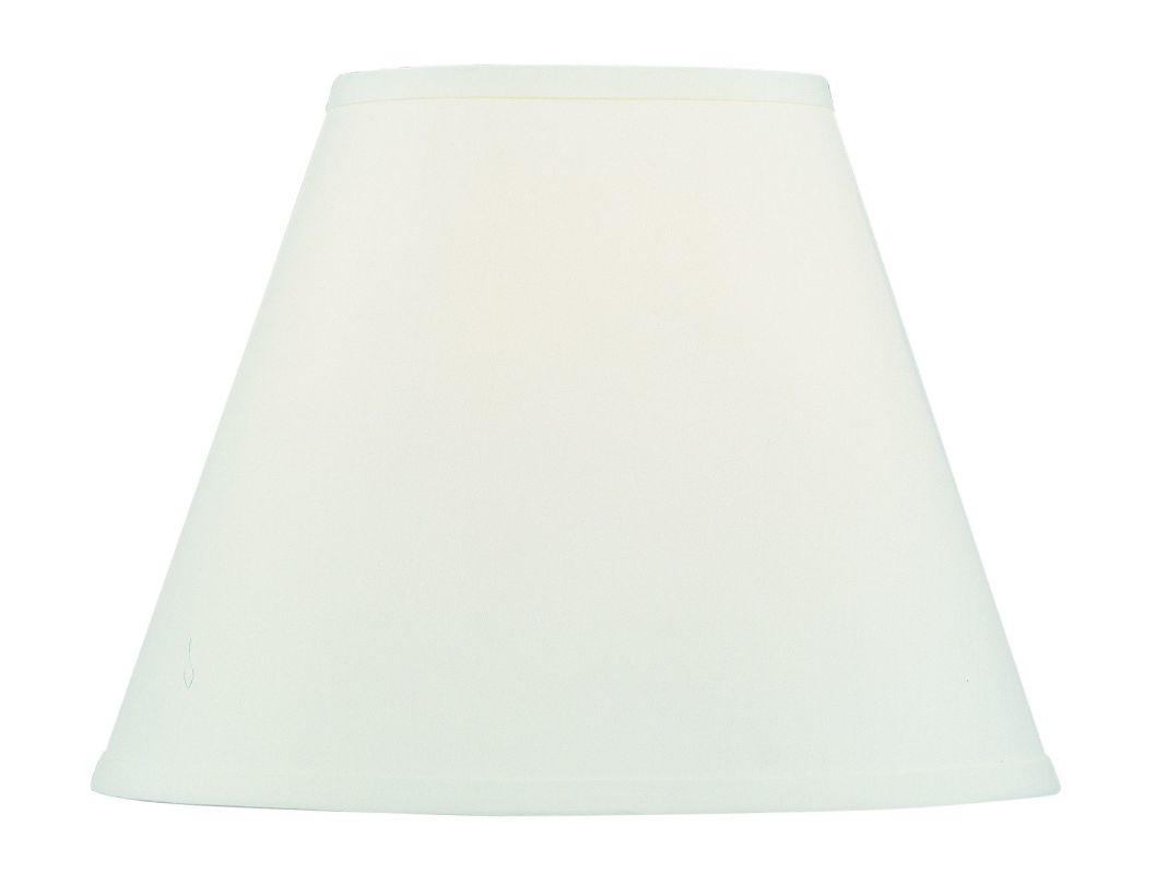 Livex Lighting S604 Off White Hardback Empire Shade from the Hardback