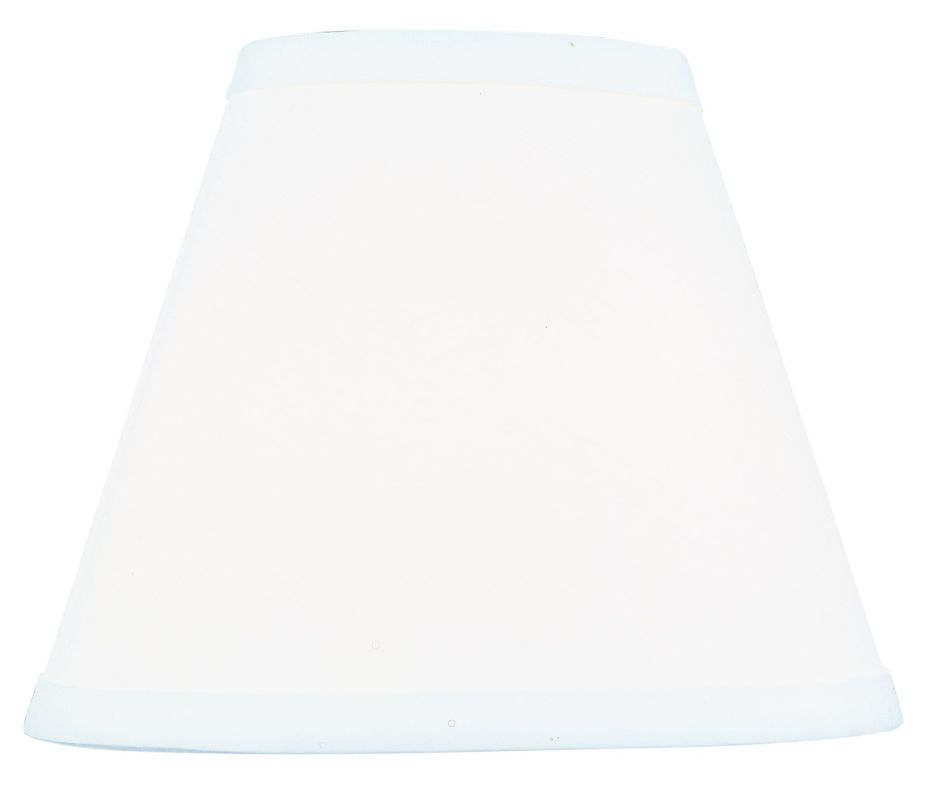 Livex Lighting S611 White Hardback Empire Shade from the Hardback Lamp