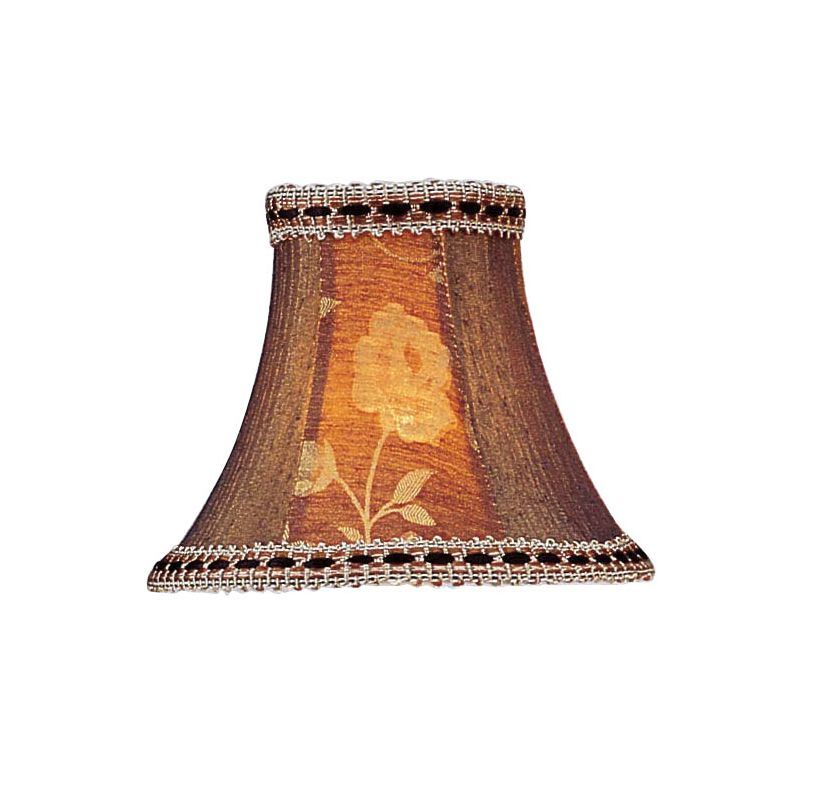 Livex Lighting S140 Chandelier Shade with Burgundy Floral Panel Bell Sale $19.90 ITEM: bci1035181 ID#:S140 :