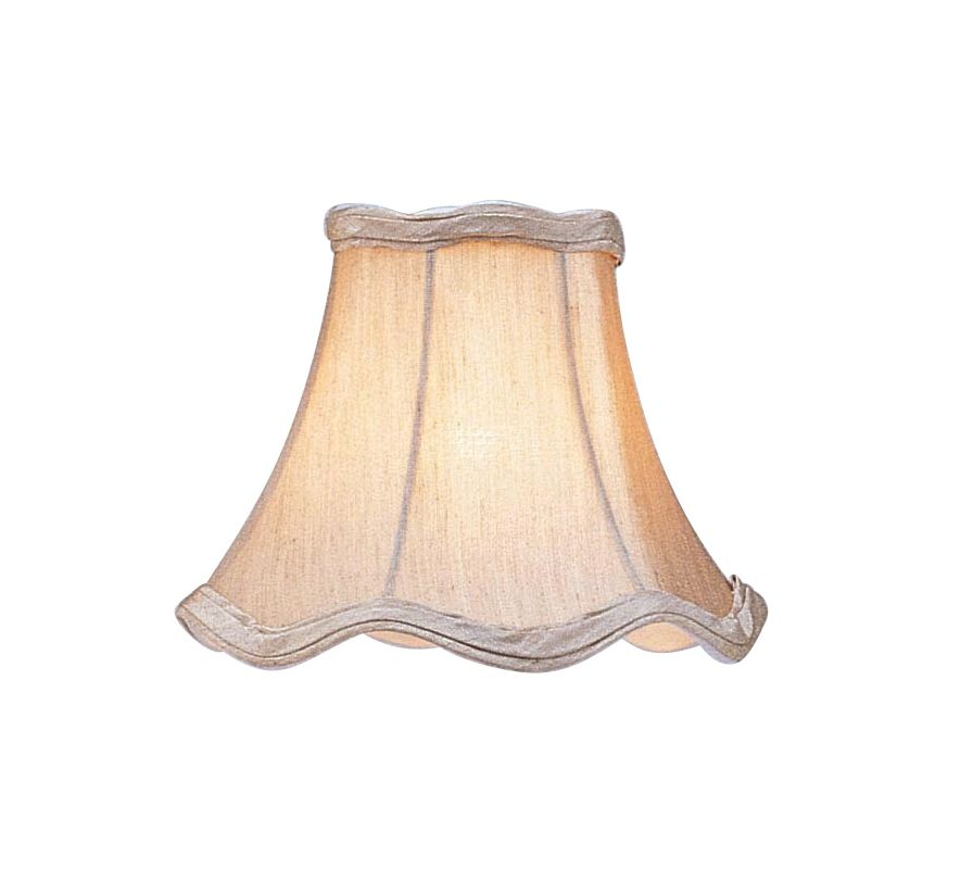 Livex Lighting S142 Chandelier Shade with Champagne Scallop Bell Clip Sale $19.90 ITEM: bci1035183 ID#:S142 :