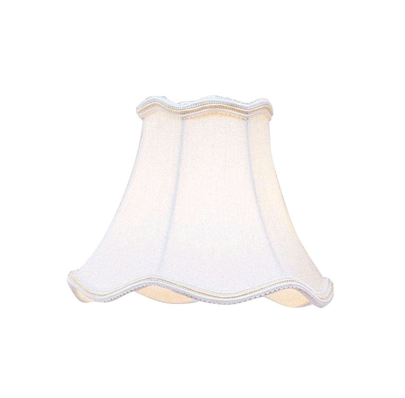 Livex Lighting S149 Chandelier Shade with White Scallop Bell Clip Sale $19.90 ITEM: bci1035190 ID#:S149 :