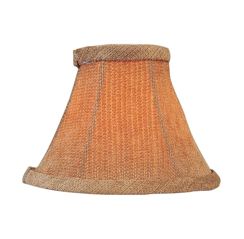 Livex Lighting S204 Chandelier Shade with Mauve Fabric Shade from