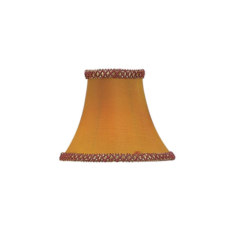Livex Lighting S217 Chandelier Shade with Gold/Burgundy Illusion Bell