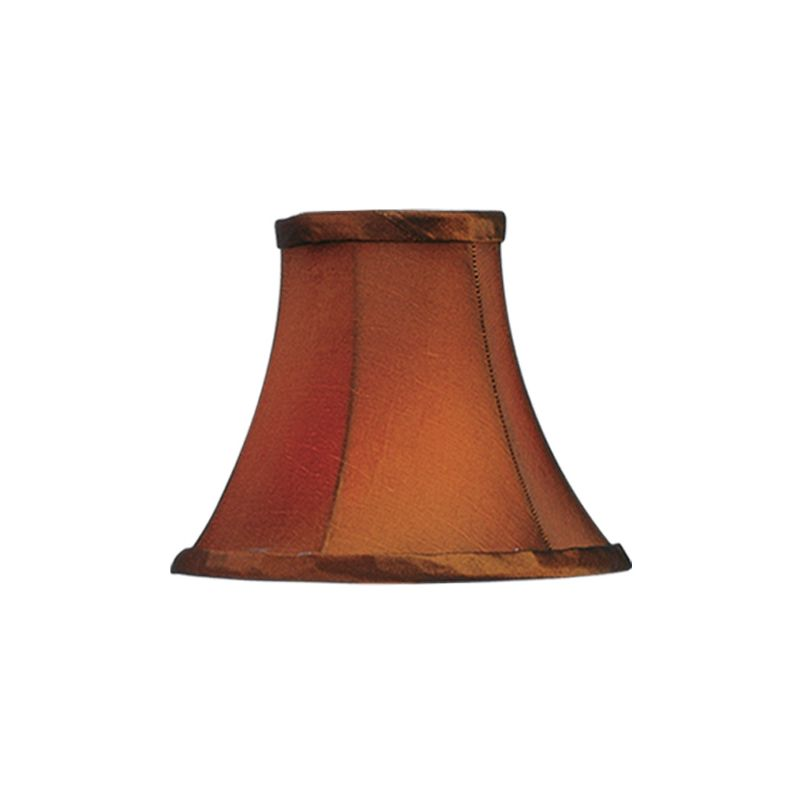 Livex Lighting S220 Chandelier Shade with Brown Silk Bell Clip Shade Sale $19.90 ITEM: bci1035211 ID#:S220 :