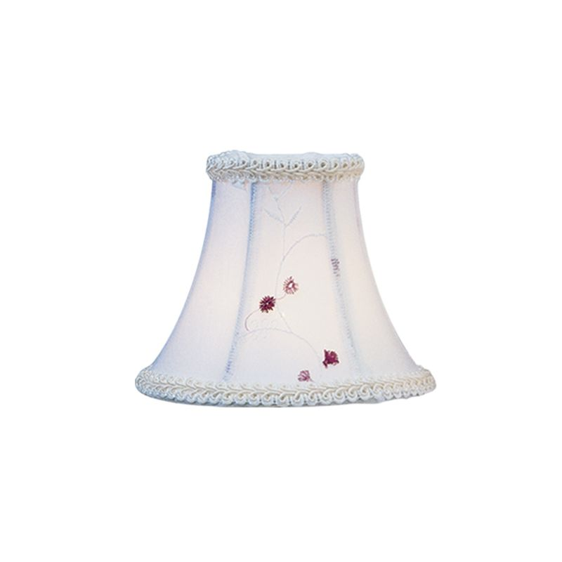 Livex Lighting S221 Chandelier Shade with White Embroidered Floral Sale $19.90 ITEM: bci1035212 ID#:S221 :