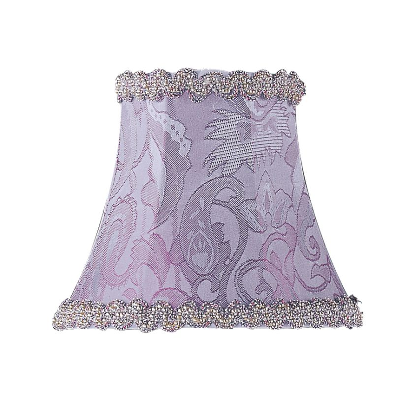 Livex Lighting S268 Chandelier Shade with Periwinkle Damask Silk Bell Sale $19.90 ITEM: bci1035234 ID#:S268 :