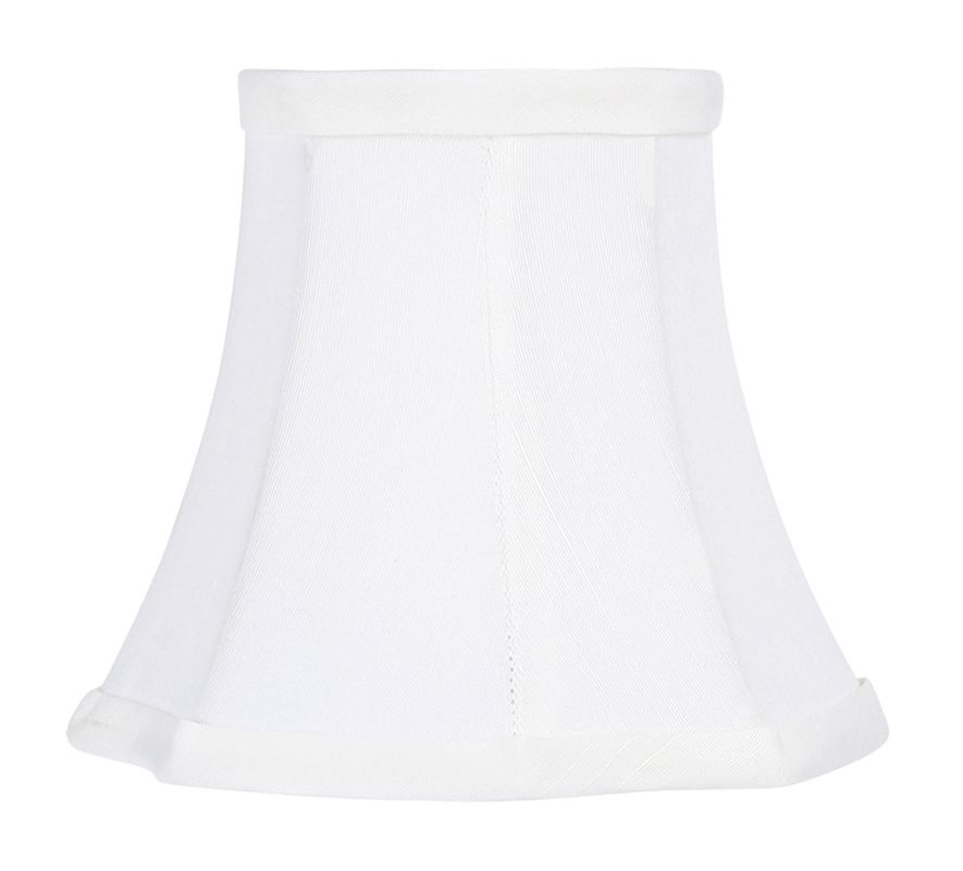 Livex Lighting S288 Chandelier Shade with White Round Cut Corner Silk