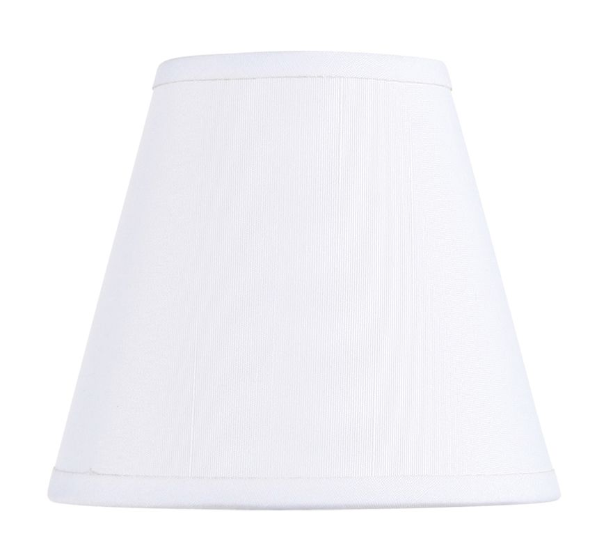 Livex Lighting S299 Chandelier Shade with Off White Hardback Clip