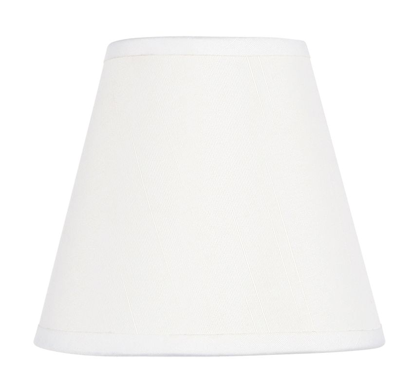 Livex Lighting S300 Chandelier Shade with White Hardback Clip Shade