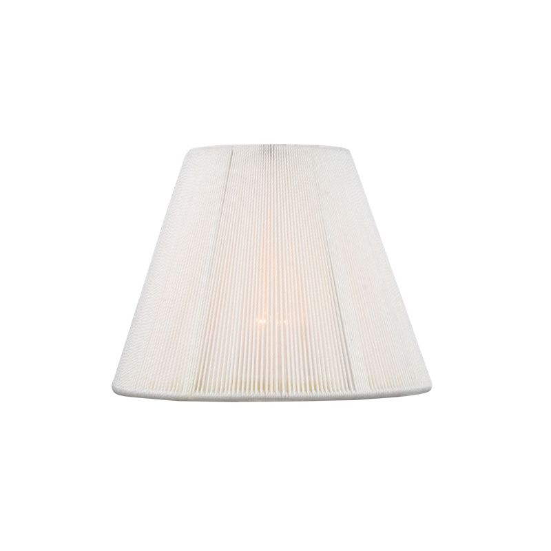 Livex Lighting S325 Chandelier Shade with White Empire Silk String
