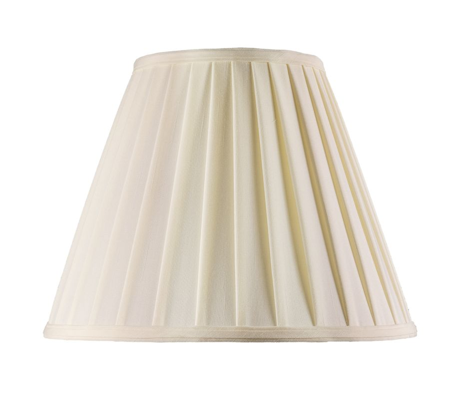 Livex Lighting S515 Lampshade with Off White Shantung Silk Pleat