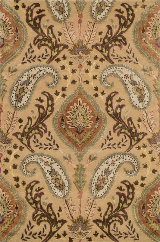 Loloi Rugs Antalya 01BEML Hand Tufted Wool Transitional Area Rug 5 x 8