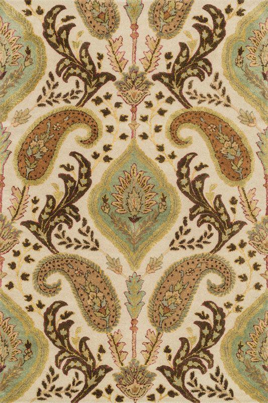 Loloi Rugs Antalya 01IVML Hand Tufted Wool Transitional Area Rug 8 x