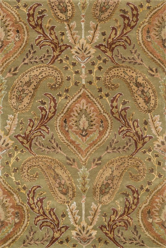 Loloi Rugs Antalya 01SGML Hand Tufted Wool Transitional Area Rug 5 x 8
