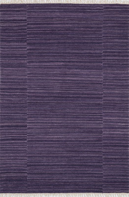 Loloi Rugs Anzio 01PU00 Flat Weave Wool Transitional Area Rug 4 x 6