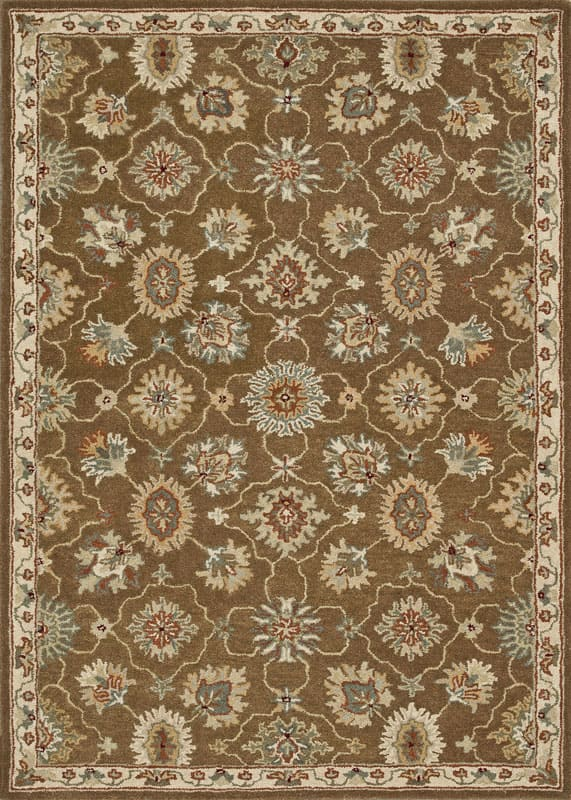 Loloi Rugs Fairfield 01BRIV Hand Tufted Wool Traditional Area Rug 9 x Sale $1109.00 ITEM: bci2788433 ID#:FAIRHFF01BRIV90C0 UPC: 885369271243 :