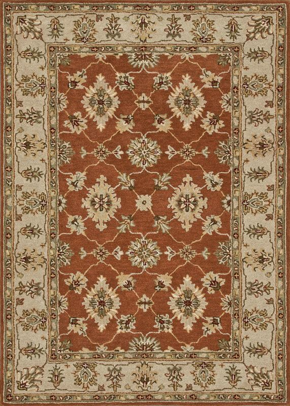 Loloi Rugs Fairfield 06RUBE Hand Tufted Wool Traditional Area Rug 9 x Sale $1109.00 ITEM: bci2788481 ID#:FAIRHFF06RUBE90C0 UPC: 885369271366 :